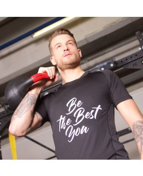 T-Shirt JN Design - be the best you
