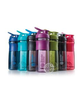 820ml BlenderBottle® SportMixer™ Tritan Grip transparent